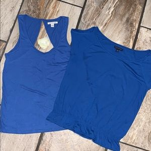 2/$15 American Eagle Outfitters Blue Tops